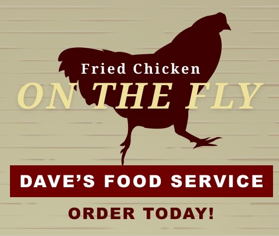 Fried Chicken on the fly - order today